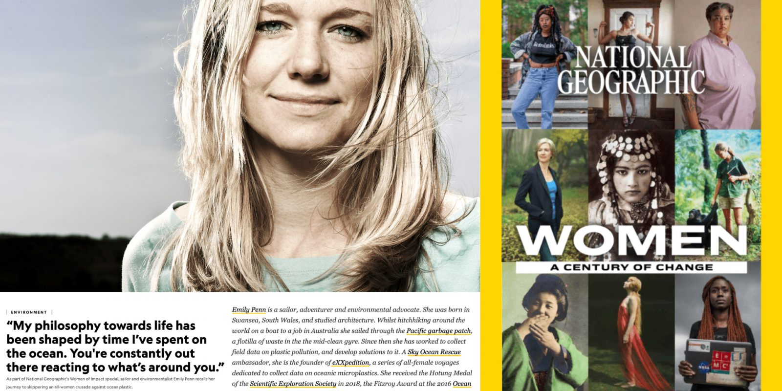 National Geographic eXXpedition Emily Penn _ women of impact